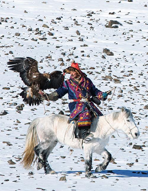 Classic Eagle Hunting & Explore Alatau Mountains